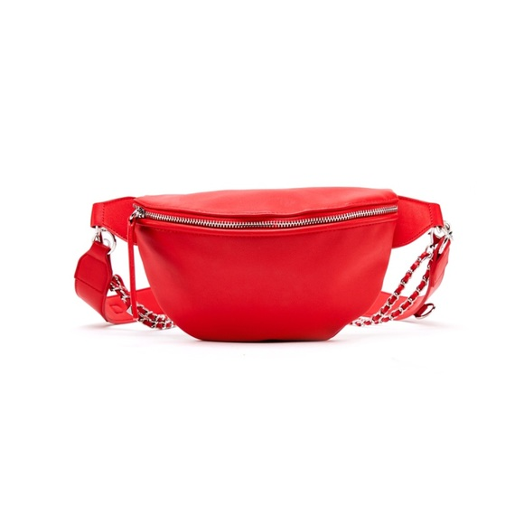 Handbags - Red Fanny Pack